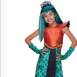 Nefera de Nile Monster High child costume Size 5-7